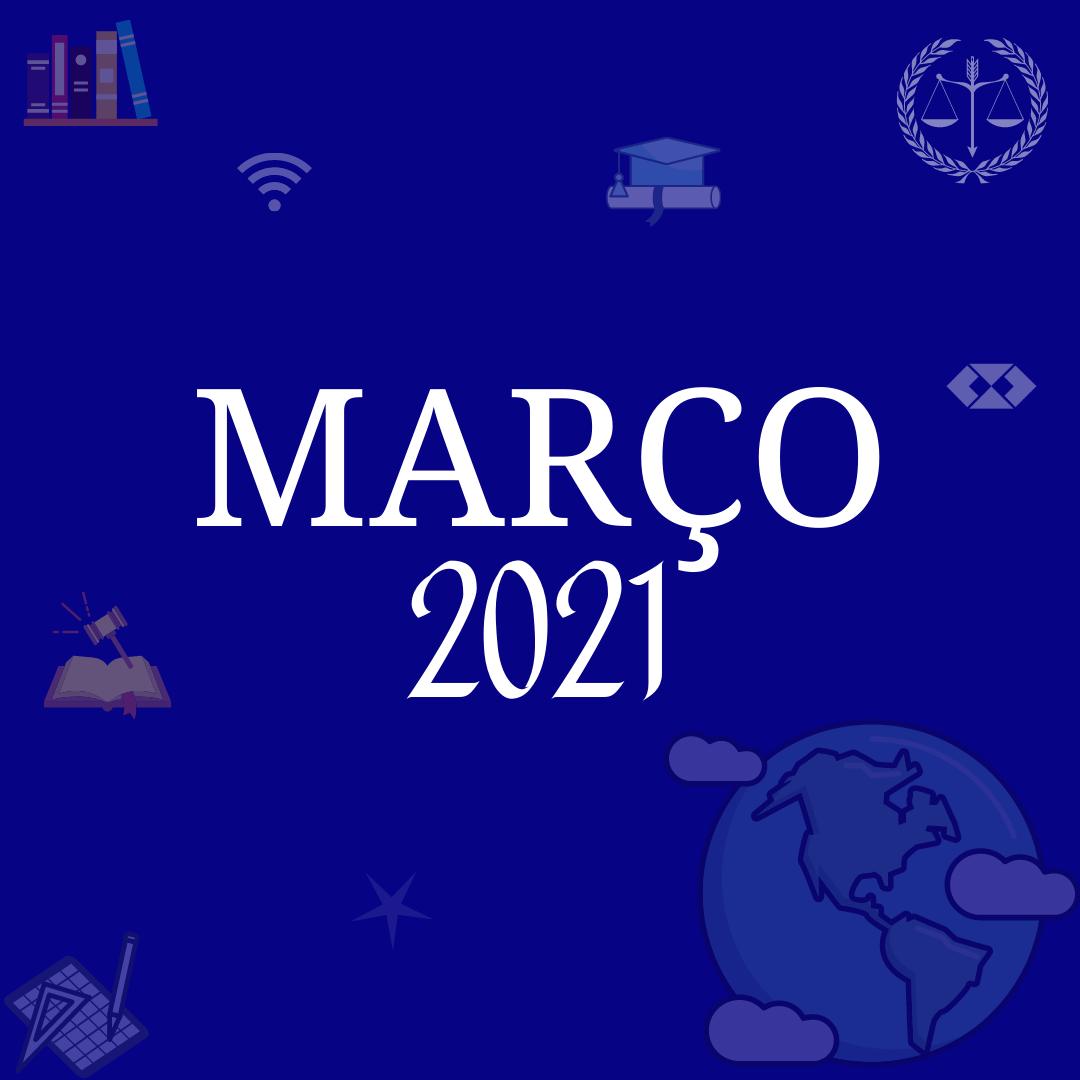 CURSOS MAIS PROCURADOS MARÇO 2021